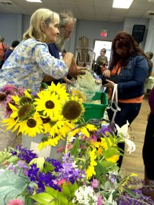Vendors at the Farmers Market in Cape North Cape Breton